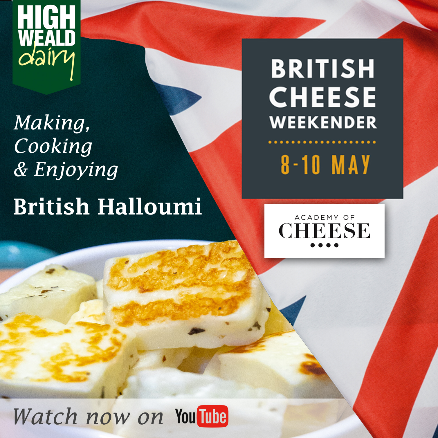 Make, Cook & Enjoy British Halloumi